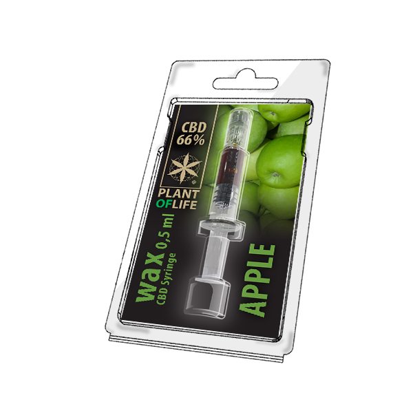 PLANT OF LIFE Wax 66% Apple 0,5ml